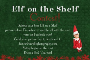 Submit your best Elf on the Shelf photo Karelle Photography