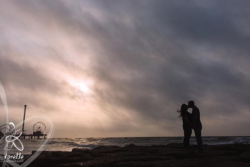 Galveston Engagement session photography Karelle Photography