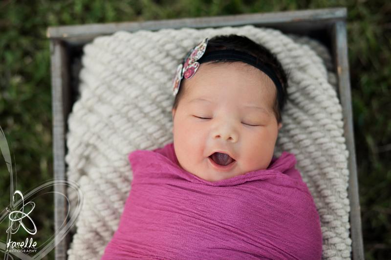 Cypress newborn session