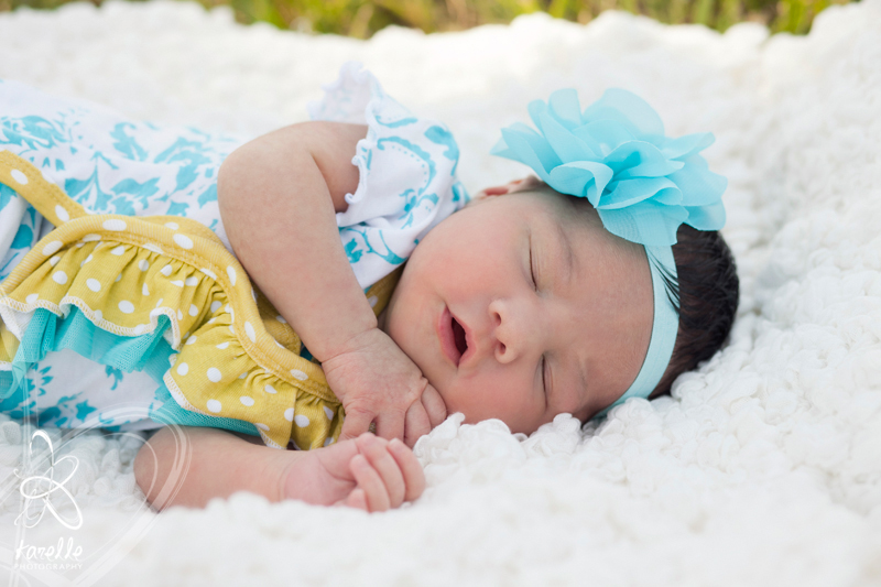 Cypress baby session Joie Photographie