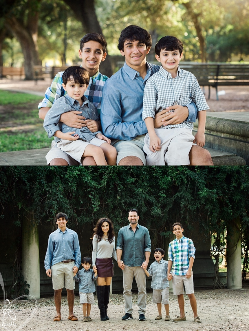 hermann park portrait session