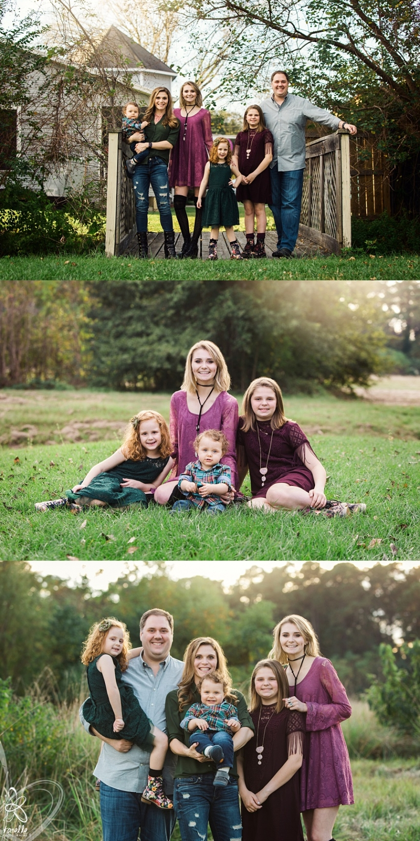 spring family photography