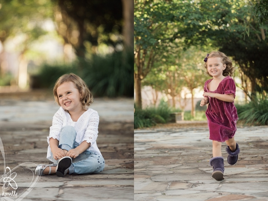 child photographer in the woodlands