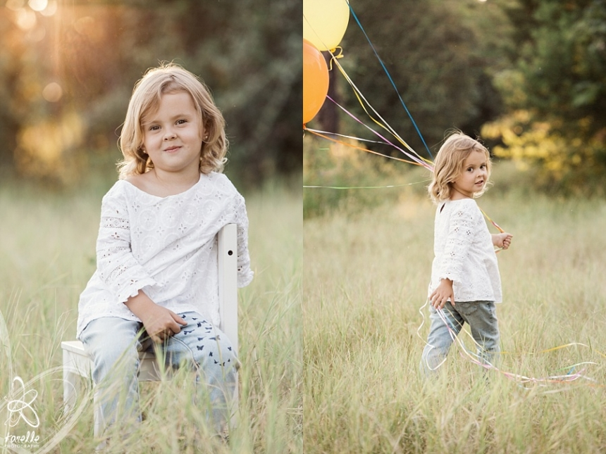 child photography in the woodlands